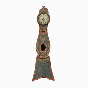 18th-Century Swedish Mora Grandfather Clock