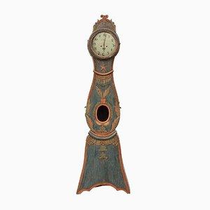 Reloj de caja alta sueco, siglo XVIII