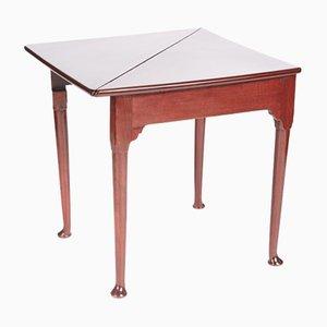 George III Mahogany Envelope Table