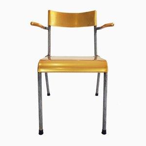 Vintage Swiss Stackable Outdoor Chair, 1950s