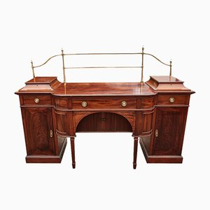 Large Antique Mahogany Sideboard, 1870s