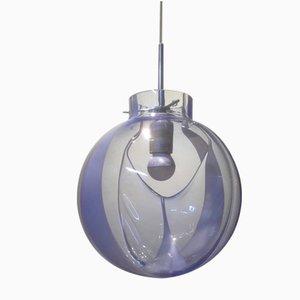 Lampe à Suspension à Membrane Vintage par Toni Zuccheri pour Venini