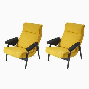 Modell 137 Sessel von Theo Ruth für Artifort, 1950er, 2er Set
