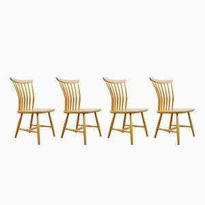 SZ03 Dining Chairs by Bengt Akerblom & Gunnar Eklof for Akerblom, 1950s, Set of 4