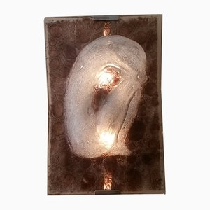 Large Vintage Murano Glass Wall Light