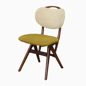 Mid-Century Dutch Side Chair by Louis van Teeffelen