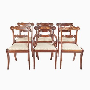 Regency Dining Chairs, Set of 6