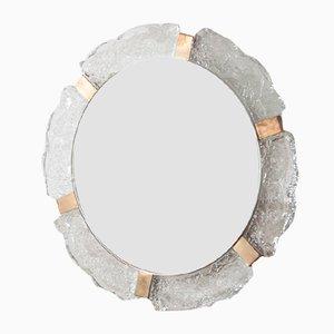 Specchio da parete vintage di Egon Hillebrand per Hillebrand Lighting