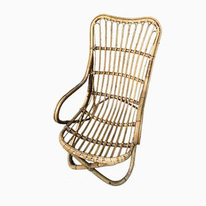 Vintage Sessel aus Bambus, 1960er