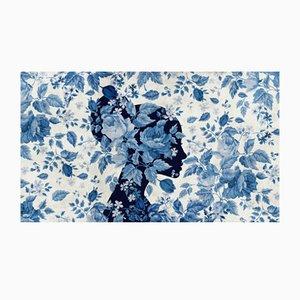 Floral Portrait Wandbild von WALL81