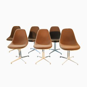 Vintage La Fonda Chair by Charles & Ray Eames for Herman Miller, Set of 6