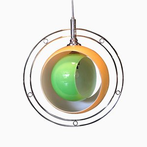 Vintage Eclisse Pendant by Carlo Nason for Mazzega, 1960s