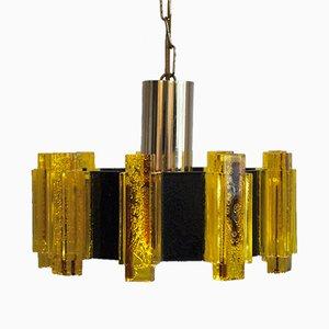 Lámpara colgante No. 2012A vintage de Claus Bolby para CeBo Industri
