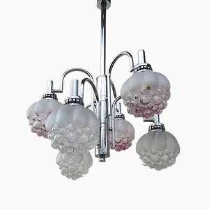 Vintage Space Age Volcano Bubble Chandelier by Helena Tynell