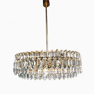 Large Mid-Century Austrian Chandelier from Bakalowits & Söhne, 1970s