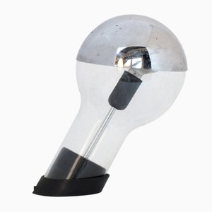 Lámpara de escritorio italiana vintage de Cesare Leonardi & Franca Stagi para Lumenform