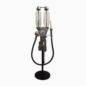 Pompe à Essence Décorative Industrielle Vintage de Satam
