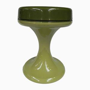 Vintage Hocker aus Kunststoff von Emsa
