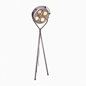 Large French Surgical Floor Lamp, 1970s