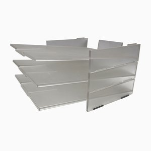 Vintage 3-Tier File Storage Unit by Takaichi De Lucchi for Kartell