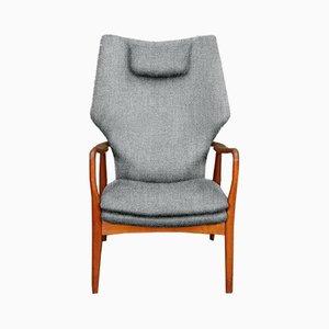 Poltrona con schienale alto personalizzabile di Madsen & Sch