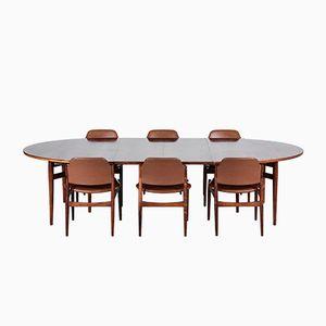 Mobilier de Salle à Manger Modèle 212 Vintage par Arne Vodder pour Sibast