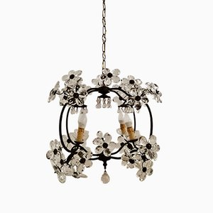 Vintage Murano Flower Ceiling Lamp