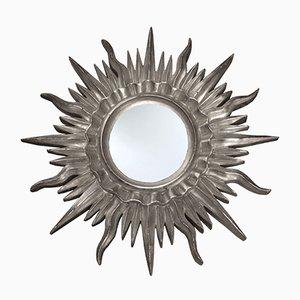 Espejo francés en forma de sol, años 60