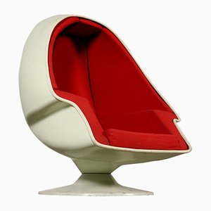 Metal, Plastic, & Fabric Armchair from Lee Co, 1960s
