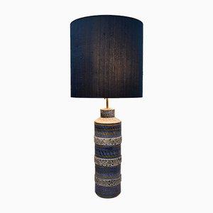 Moderne Mid-Century Tischlampe aus Keramik von Aldo Londi für Bitossi, 1960er
