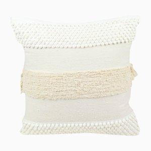 Furry Mushroom Pillow in White by R & U Atelier