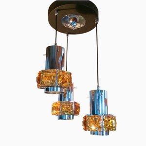 Lámpara de araña era espacial vintage