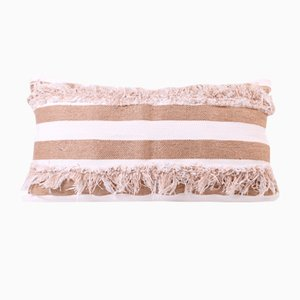 Fringe Cotton Pillow by R & U Atelier