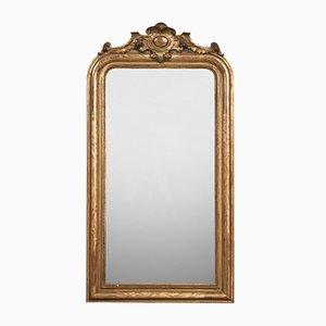 Antiker französischer Spiegel mit Kartusche