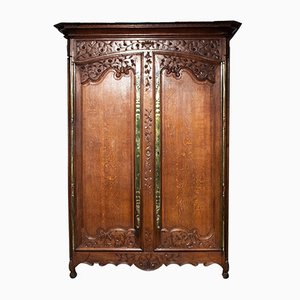 Antique French Marriage Armoire