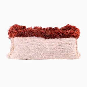 Fringe Furry Pillow by Nieta Atelier