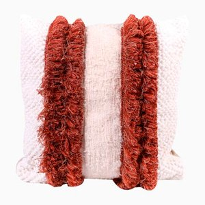 Fringe Furry Mushroom Pillow Cover by R & U Atelier