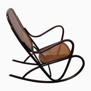 Rocking Chair Modèle 7091 Vintage de Thonet