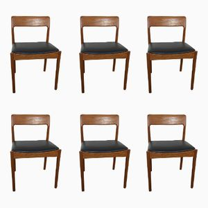 Mid-Century Dining Chairs by David walker for Dalescraft, 1960s, Set of 6