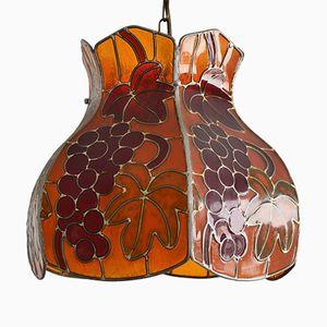 Lámpara colgante alsaciana vintage, años 60