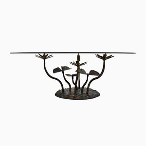 Vintage Lotus Coffee Table by Willy Daro