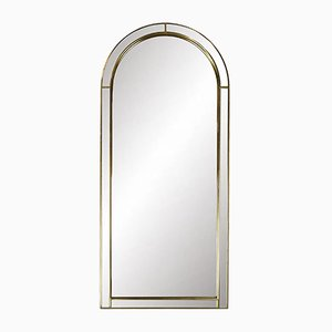 Vintage Gold Arcade Mirror from Deknudt