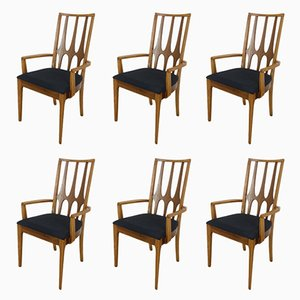 Mid-Century Brasilia Dining Chairs from Broyhill, 1962, Set of 6