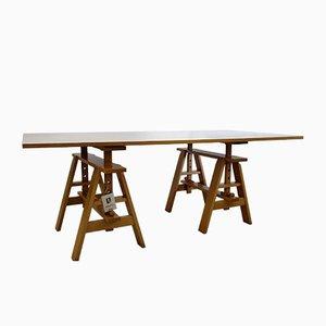 Table Leonardo par Achille Castiglione pour Zanotta, 1980s