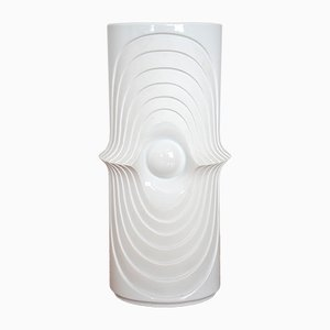 Jarrón de pie Mid-Century grande de porcelana biscuit de Royal Porzellan KPM Bavaria