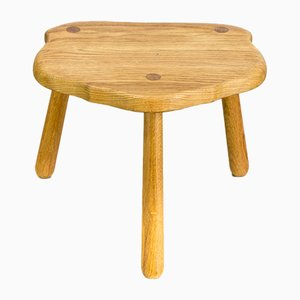 Vintage Smoked Oak Stool