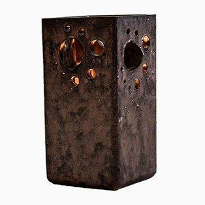 Brutalist Dutch Ceramic Table Lamp, 1960s