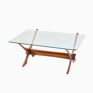 Vintage Condor Rosewood Coffee Table by Fredrik Schriever-Abeln for Örebro Glas