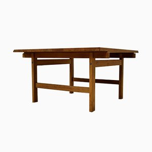 Vintage Oak Club Table by Hans J. Wegner for Andreas Tuck