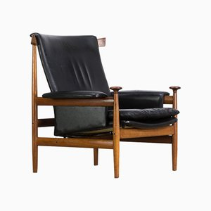 Vintage Bwana 152 Lounge Chair by Finn Juhl for France & Søn, 1962